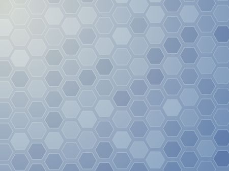 organized: Abstract wallpaper illustration of geometric hexagon pattern Stock Photo