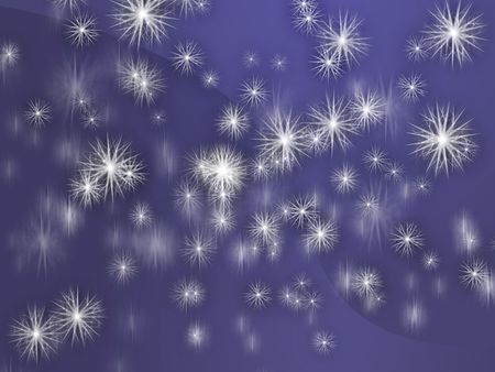 snow storm: Falling snow, detailed crystalline snowlfakes abstract background wallpaper