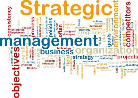 competitors: Word cloud tags concept illustration of strategic management Stock Photo
