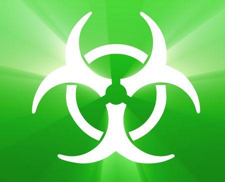 Biohazard sign, warning alert for hazardous bio materials Stock Photo - 4907370