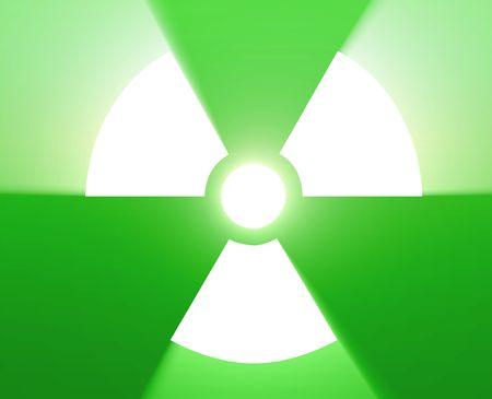 Illustration of radiation hazard warning alert symbol Stock Illustration - 4907274