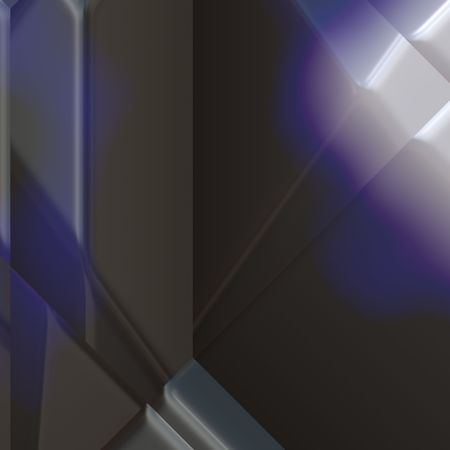 reflect: 3d geometric abstract metallic surface background texture
