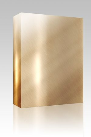 Software package box Texture background illustration of brushed glossy metal surface Stock Illustration - 4943671