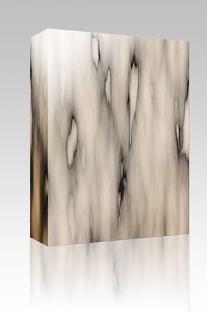 worked: Software package box Background texture of patterned marble stone surface Stock Photo