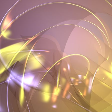 refracting: Abstract wallpaper background illustration of smooth flowing glowing colors