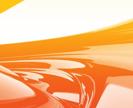 streaks: Abstract wallpaper background illustration of smooth flowing colors