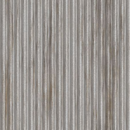 Corrugated metal surface with corrosion texture seamless background illustration  illustration