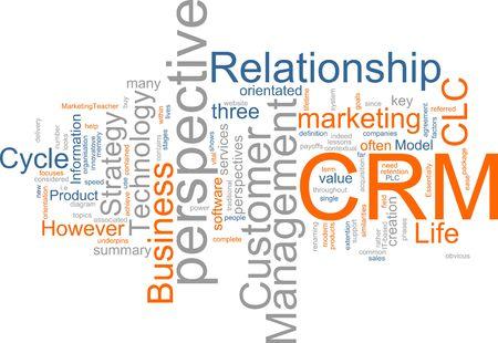 relation clients: Word cloud concept illustration de CRM Customer Relationship Management. Banque d'images