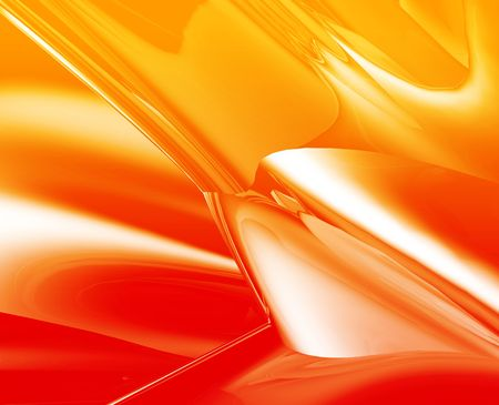 Abstract wallpaper background illustration of smooth flowing colors Stock Illustration - 5158426