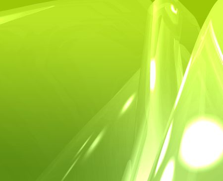 Abstract wallpaper background illustration of smooth flowing colors Stock Illustration - 5158370