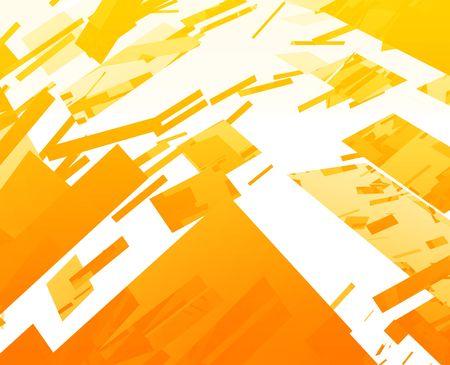 Abstract background illustration of shattered exploding geometric shapes illustration