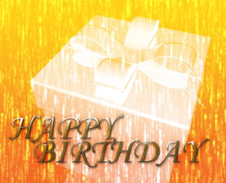 Happy Birthday festive special occasion celebration abstract illustration illustration