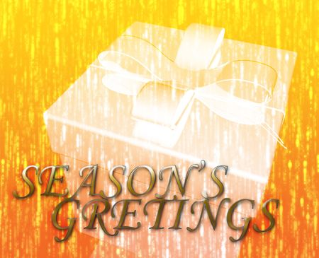Seasons greetings festive special occasion celebration abstract illustration illustration