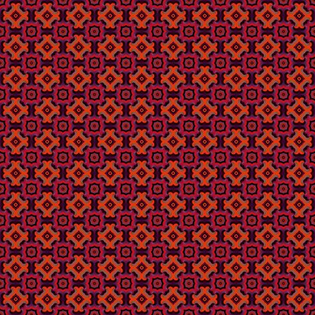 seamlessly: Colorful abstract retro patterns geometric design wallpaper background