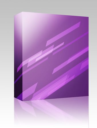 Software package box Abstract wallpaper illustration of geometric dynamic shapes illustration