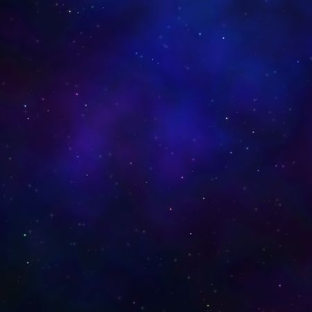 Space nebula starfield  illustration of outerspace starry sky