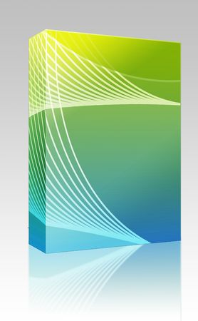 Software package box Abstract wallpaper illustration of geometric design colors illustration