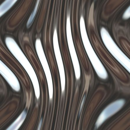 chromed: Warped reflective chromed metal surface texture background