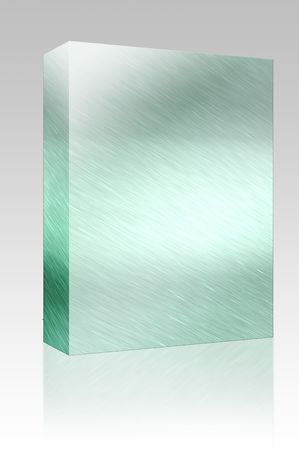 Software package box Texture background illustration of brushed glossy metal surface Stock Illustration - 5501744