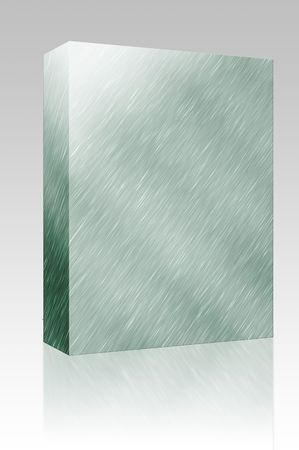 Software package box Brushed metal surface texture seamless background illustration Stock Illustration - 5501775