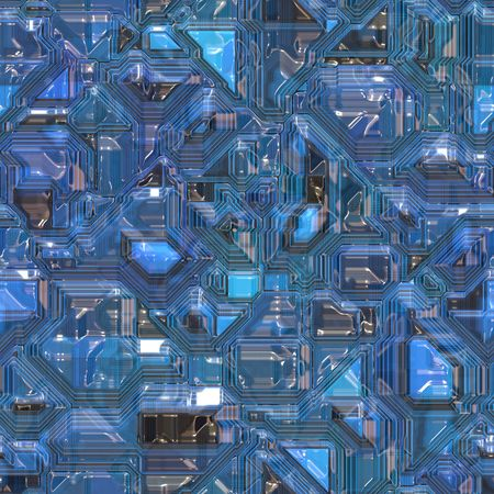 nexus: Abstract high tech circuitry background wallpaper illustration