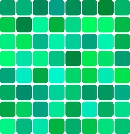 shifting: Abstract background illustration of colored tile mosaic