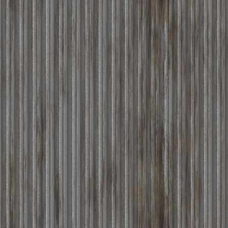 Corrugated metal ridged surface with corrosion seamless texture  Stock Photo - 5641644