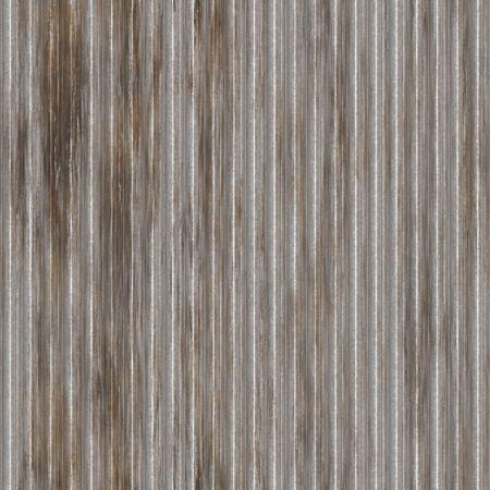 ridged: Corrugated metal ridged surface with corrosion seamless texture  Stock Photo