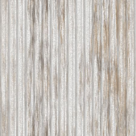 Corrugated metal ridged surface with corrosion seamless texture  Stock Photo - 5641602