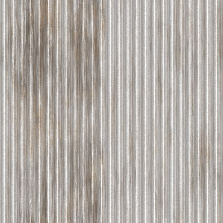Corrugated metal ridged surface with corrosion seamless texture  Stock Photo - 5641619