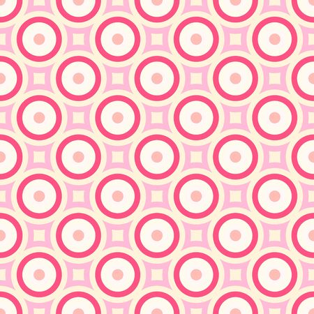 Colorful retro patterns geometric design vintage wallpaper seamless background Stock Photo - 5648177