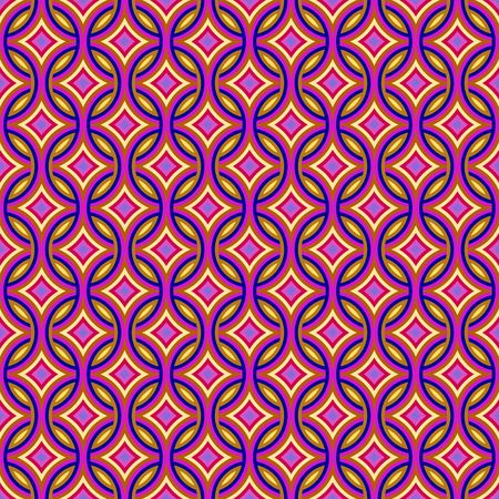 Colorful abstract retro patterns geometric design wallpaper background Stock Photo - 5648114
