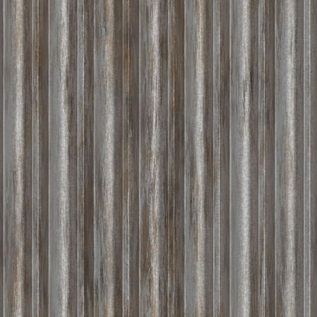 Corrugated metal ridged surface with corrosion seamless texture Stock Photo - 5685944