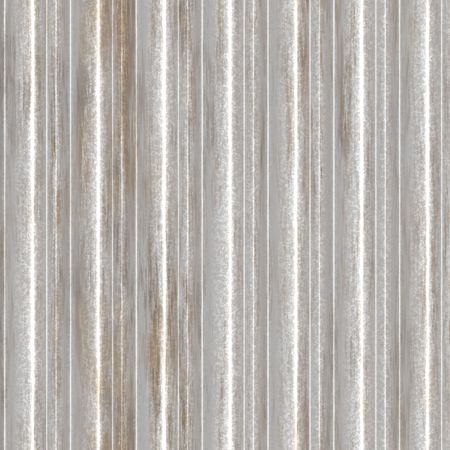 Corrugated metal ridged surface with corrosion seamless texture  Stock Photo - 5685941
