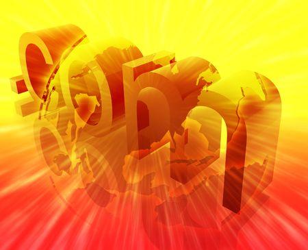 url: Dot com website internet web url USA illustration