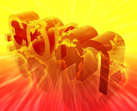 url: Dot com website internet web url worldwide illustration