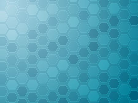 basic shapes: Abstract wallpaper illustration of geometric hexagon pattern Stock Photo