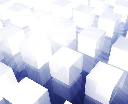 Cubes grid illustration organized rows columns background wallpaper illustration