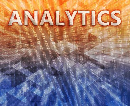 Analytics Business intellegence abstract, computer technology concept illustration Stock Illustration - 5687929