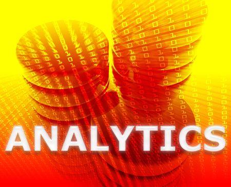 Data analytics abstract, computer technology information concept illustration Stock Illustration - 5687823