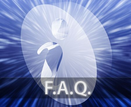 asked: FAQ Information frequently asked questions help support illustration