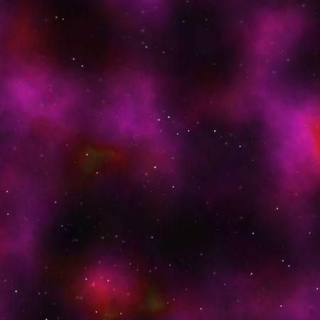 outerspace: Ilustraci�n de starfield nebulosa de espacio de cielo estrellado de outerspace