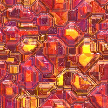Abstract high tech circuitry technology background wallpaper illustration Stock Illustration - 5739215