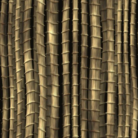 plantlife: Bamboo plant stems vegetation seamless background wallpaper