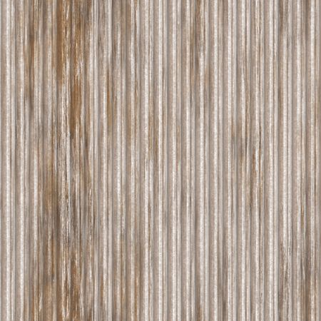 Corrugated metal ridged surface with corrosion seamless texture Stock Photo - 5753330