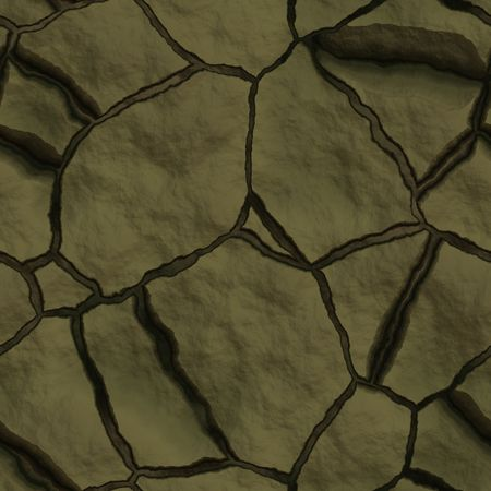 hard crust: Cracked dry earth ground drought surface seamless texture Stock Photo
