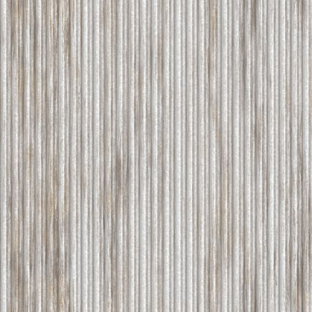Corrugated metal ridged surface with corrosion seamless texture  photo