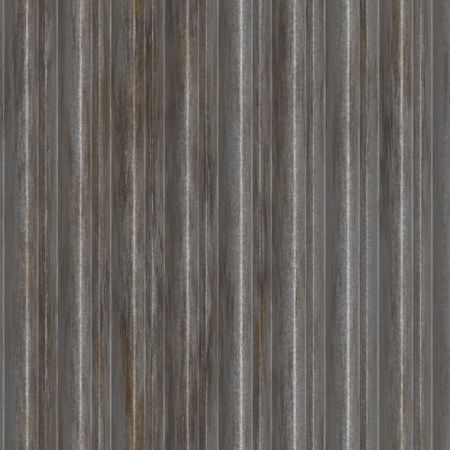 Corrugated metal ridged surface with corrosion seamless texture Stock Photo - 5907420