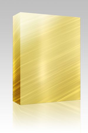 Software package box Brushed glossy metal surface, scratched texture background Stock Photo - 6153099