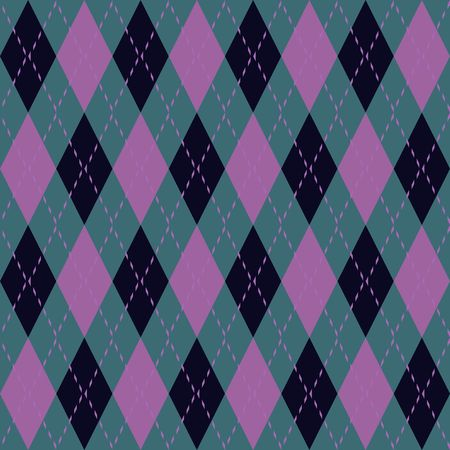 Argyle knit pattern seamless tiling background texture photo